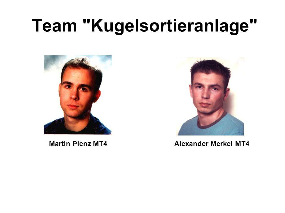 Team Kugelsortieranlage Martin Plenz MT4 Alexander Merkel MT4