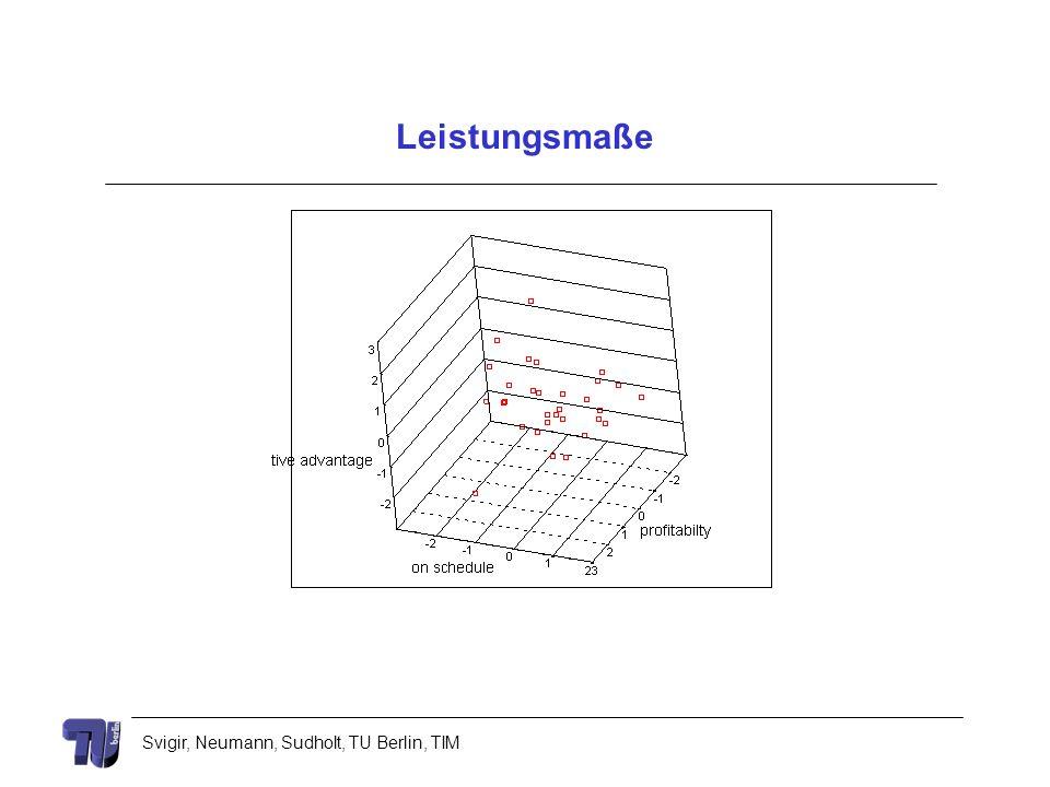 Svigir, Neumann, Sudholt, TU Berlin, TIM Leistungsmaße