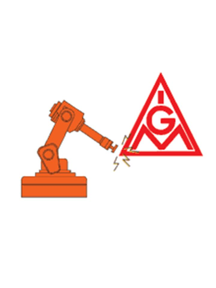Die IG Metall besteht aus allen organisierten Arbeitnehmern. Die IG Metall ist eine Einzelgewerkschaft innerhalb des Deutschen Deutschen Gewerkschaft