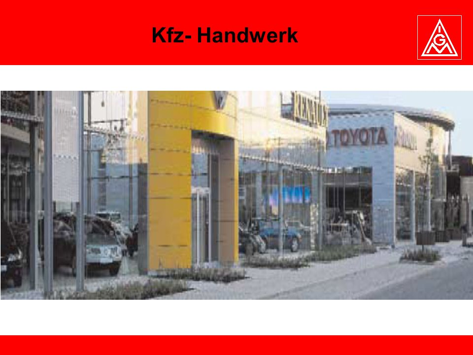 Kfz- Handwerk