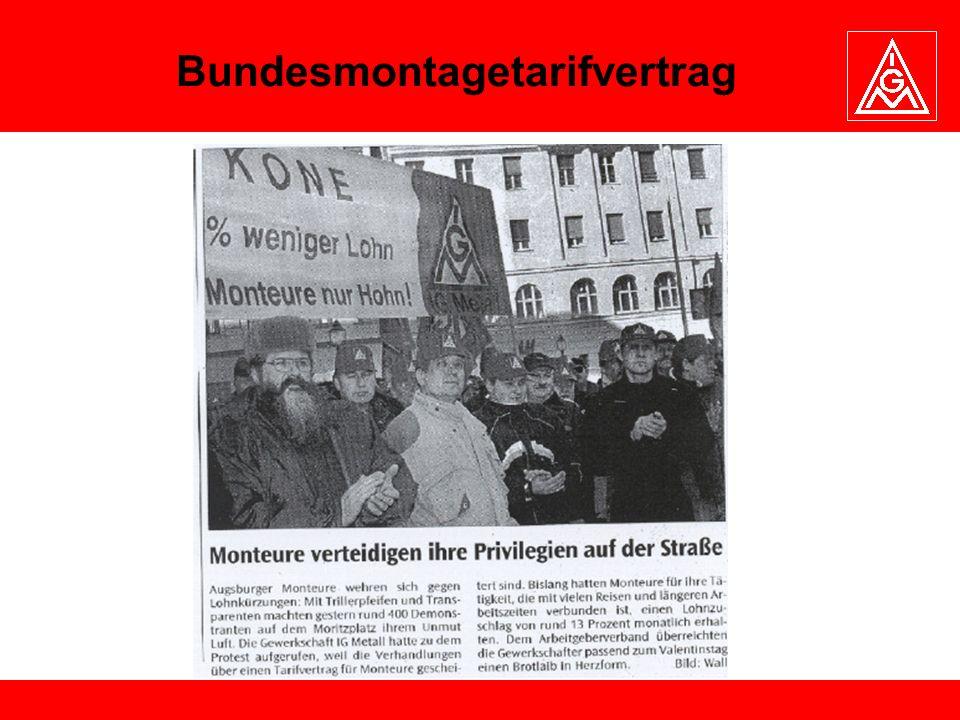 Bundesmontagetarifvertrag
