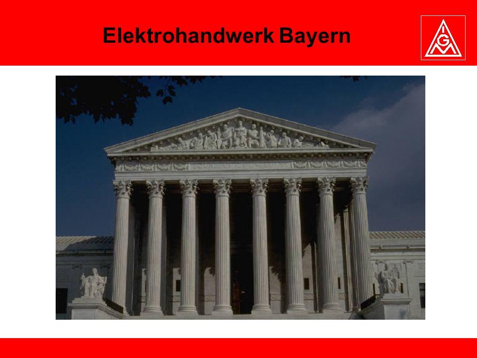 Elektrohandwerk Bayern