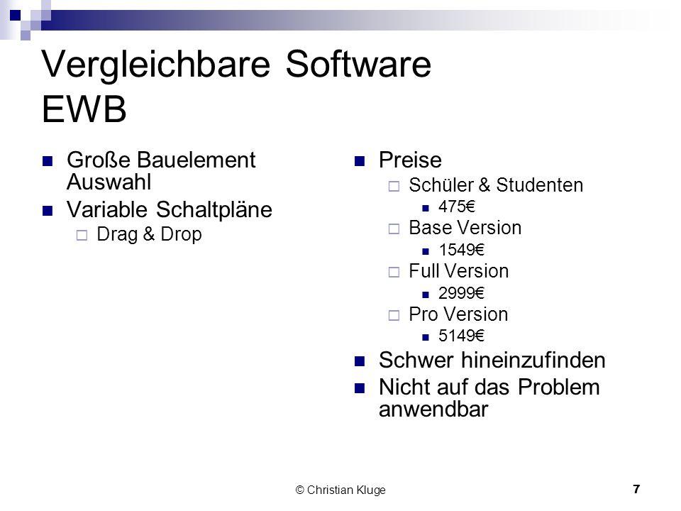© Christian Kluge8 Vergleichbare Software Winfact Kostenlose Demo zum freien Download Nicht auf das Problem Anwendbar Komplizierte Anwendung durch viele kleine unverständliche Teile