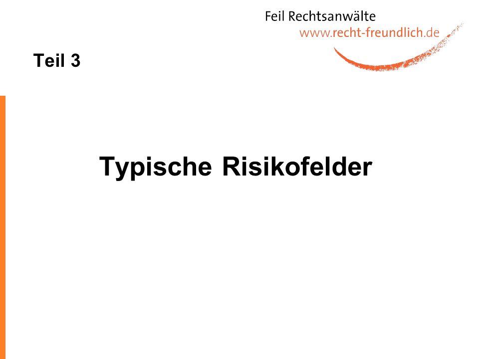 Teil 3 Typische Risikofelder