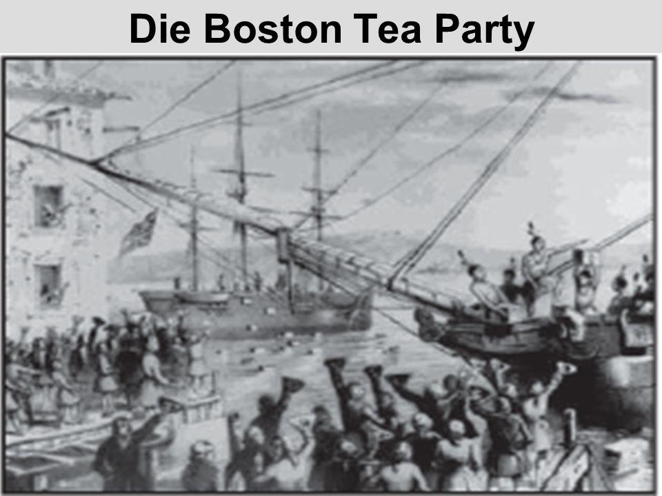 Die Boston Tea Party