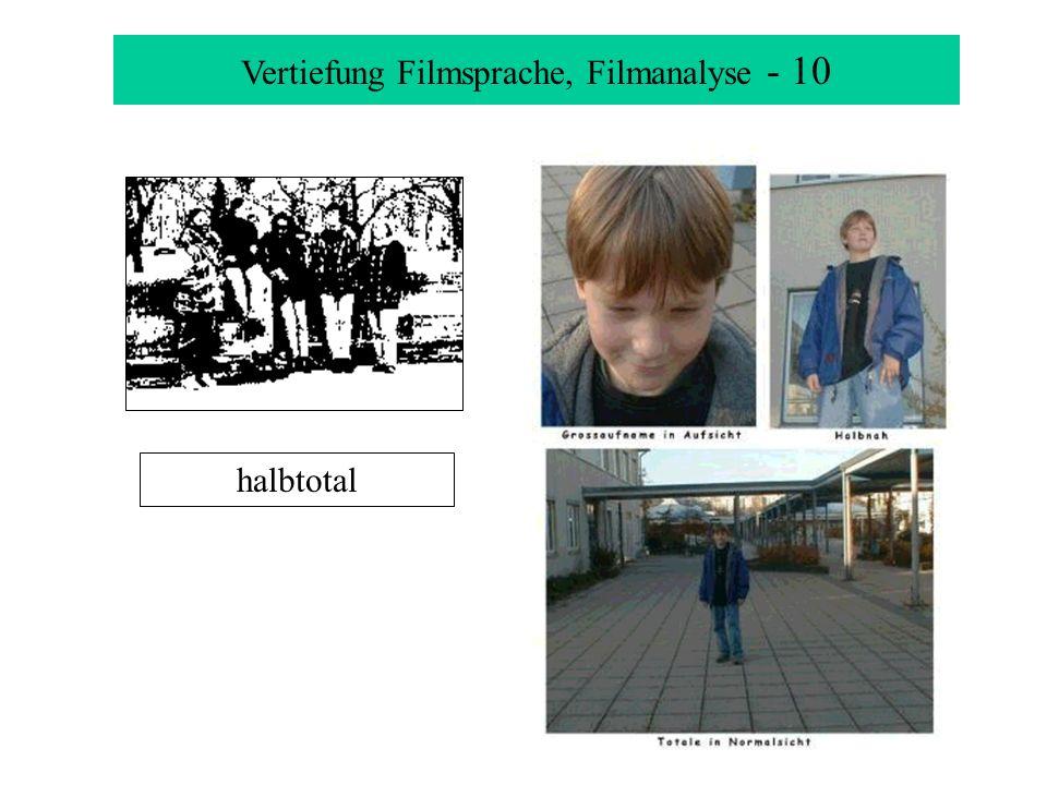 Vertiefung Filmsprache, Filmanalyse - 10 halbtotal