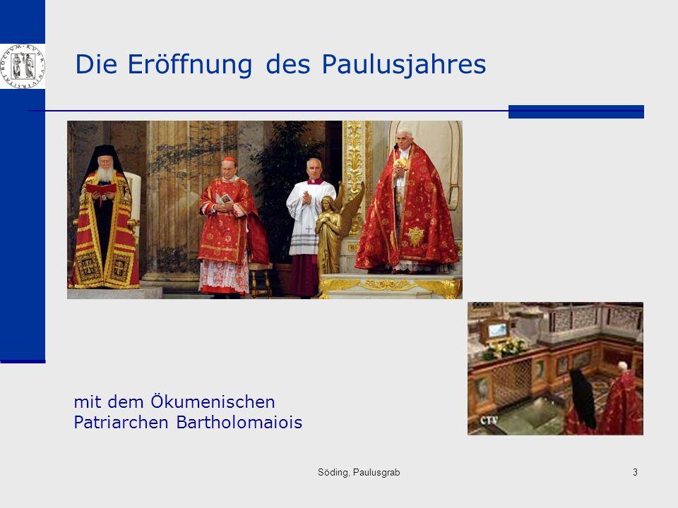 Söding, Paulusgrab14 Die Überlieferung vom Tod des Paulus Apg 20,22ff.