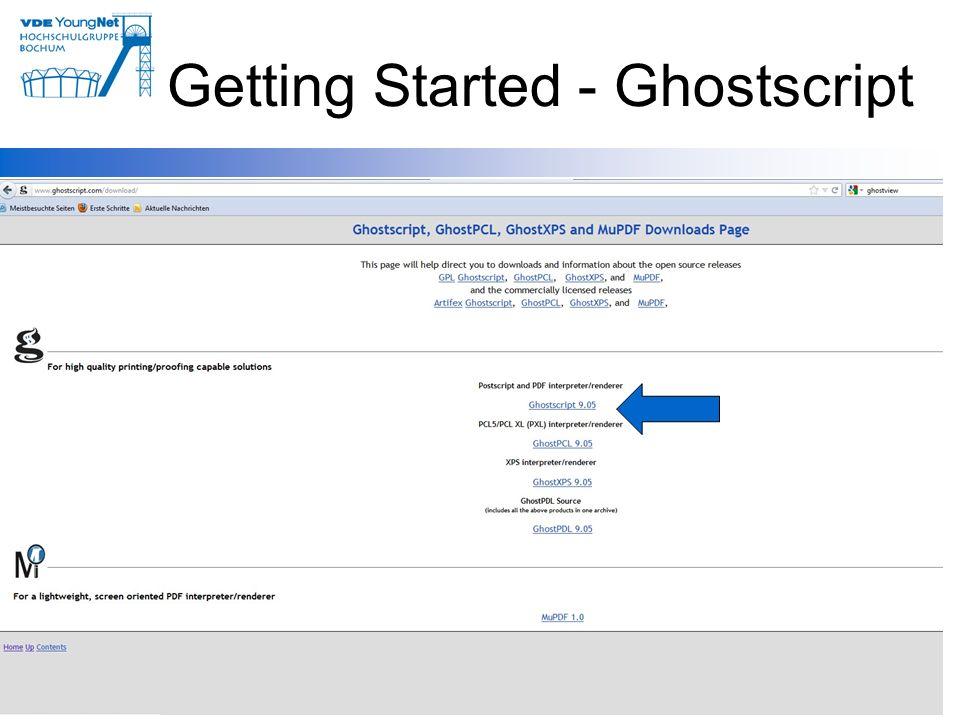 11 Getting Started - Ghostscript 11
