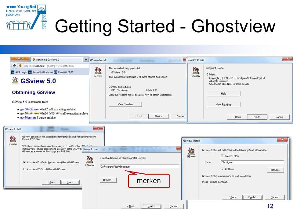 12 Getting Started - Ghostview 12 merken
