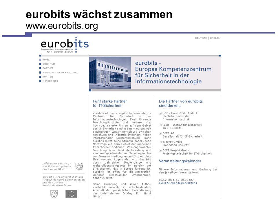 eurobits wächst zusammen www.eurobits.org