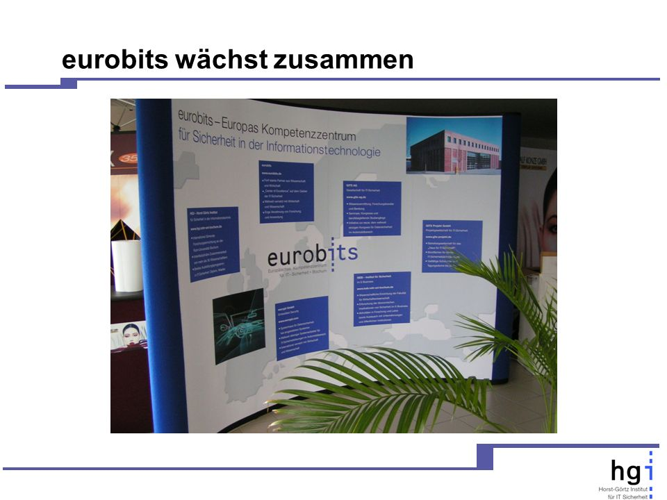 eurobits wächst zusammen