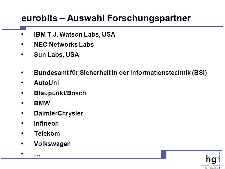 eurobits – Auswahl Forschungspartner IBM T.J.