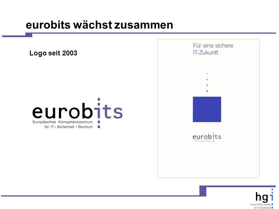 eurobits wächst zusammen Logo seit 2003