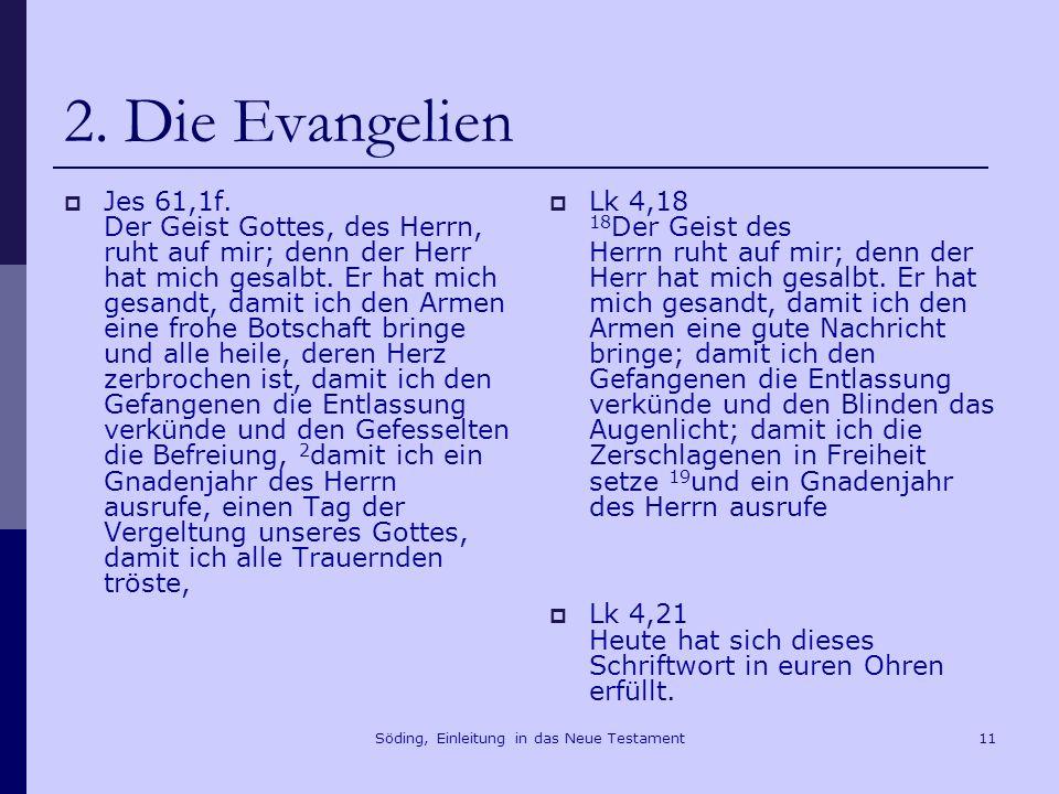 Söding, Einleitung in das Neue Testament12 2.