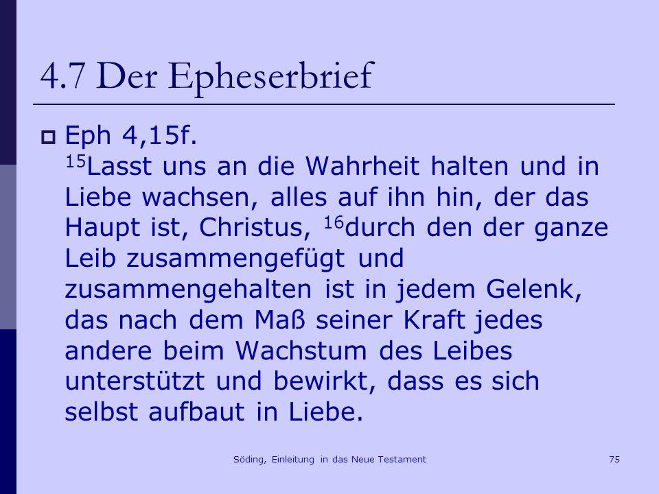 Söding, Einleitung in das Neue Testament76 4.8 Der Erste Petrusbrief Das Präskript 1Petr 1,1f.