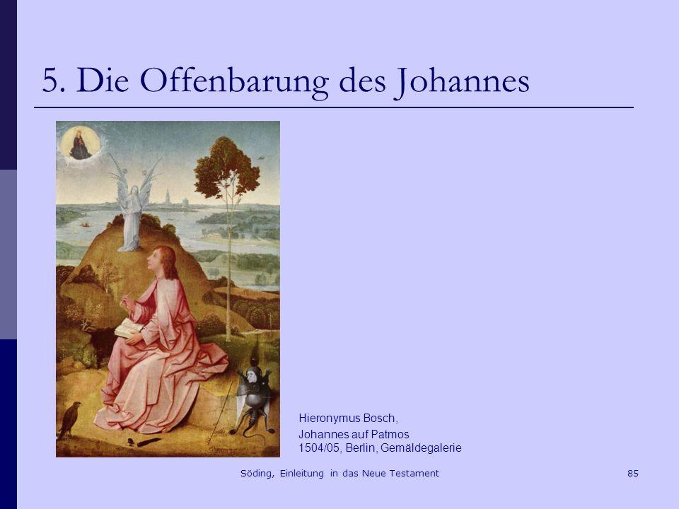 Söding, Einleitung in das Neue Testament86 5.