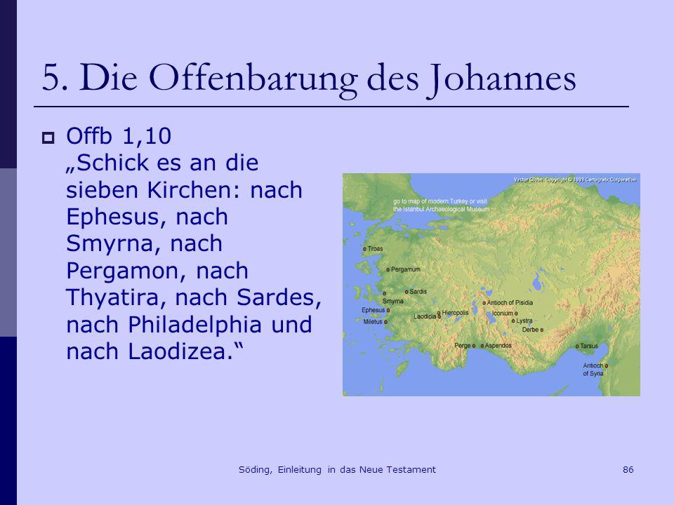 Söding, Einleitung in das Neue Testament87 5.