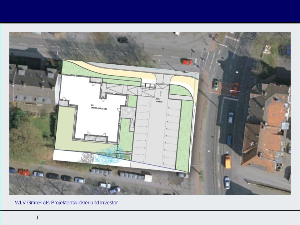 I Das Gebäude 14 Rollstuhlwohnungen (ca.54-56 qm) 2 barrierefreie Wohnungen (ca.