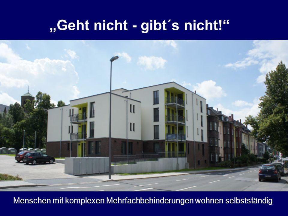 Teilhabe am Leben für Alle Aus dem Wohnheim Wasserstr. ins Appartementhaus Weitmar