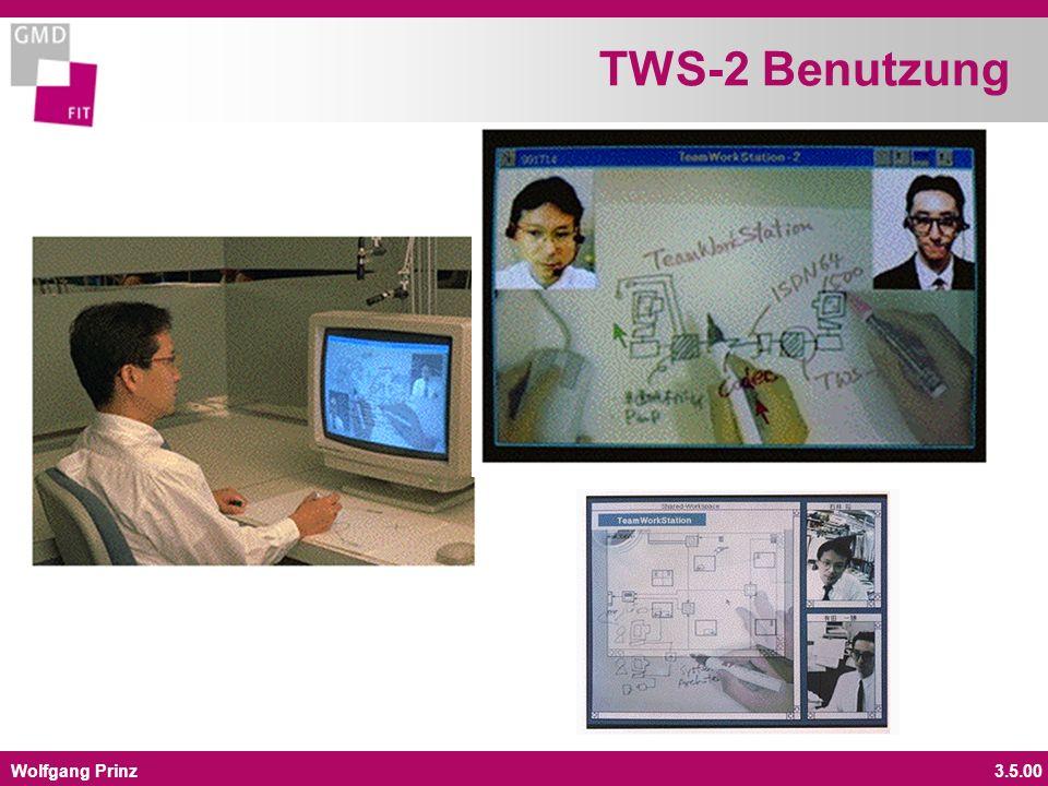 Wolfgang Prinz3.5.00 TWS-2 Benutzung