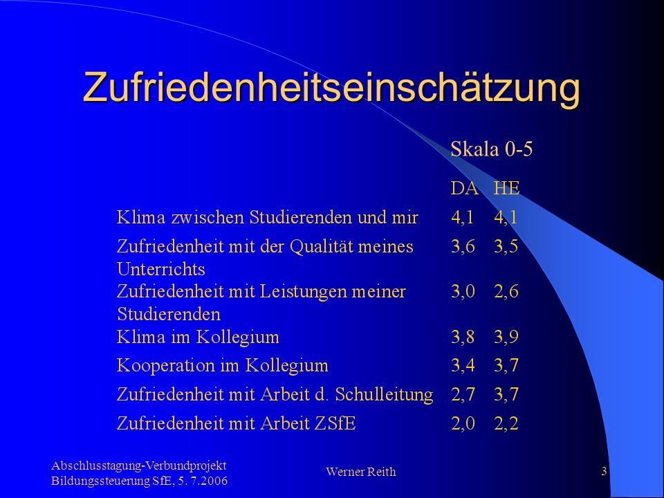 Abschlusstagung-Verbundprojekt Bildungssteuerung SfE, 5. 7.2006 Werner Reith 4 Schulprogramm