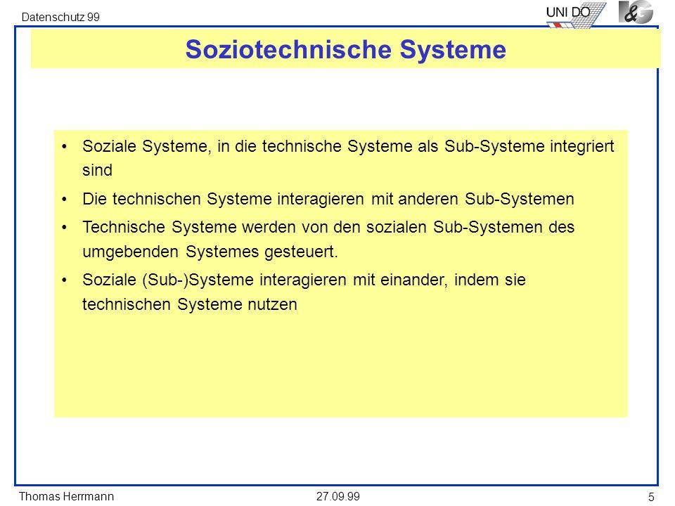 Thomas Herrmann Datenschutz 99 27.09.99 26 Modellierungsnotation - mögliche Verknüpfungen A B C x A B C