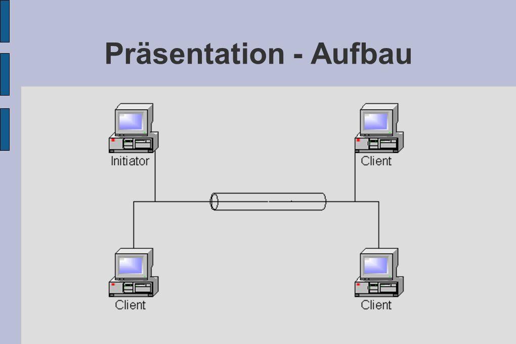 Präsentation - Aufbau