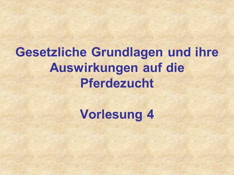 Deutsches Reitpferd: Zuchtverbandsordnung der FN
