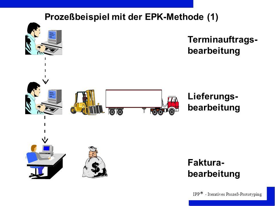 IPP - Iteratives Prozeß-Prototyping Prozeßbeispiel mit der EPK-Methode (1)