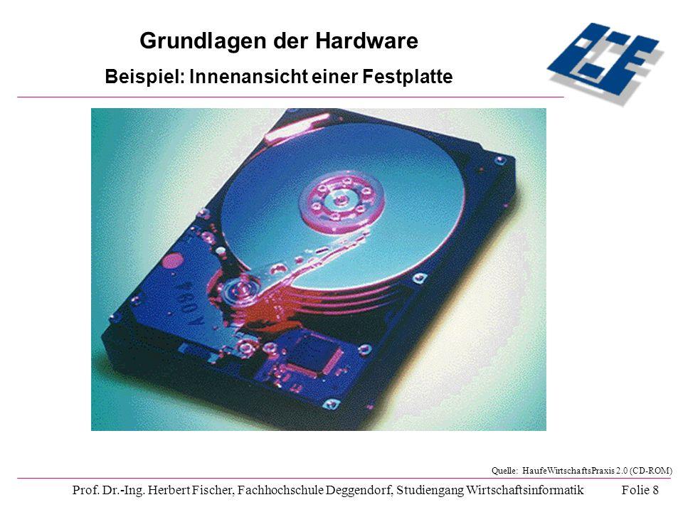 Prof. Dr.-Ing. Herbert Fischer, Fachhochschule Deggendorf, Studiengang Wirtschaftsinformatik Folie 8 Quelle: HaufeWirtschaftsPraxis 2.0 (CD-ROM) Grund