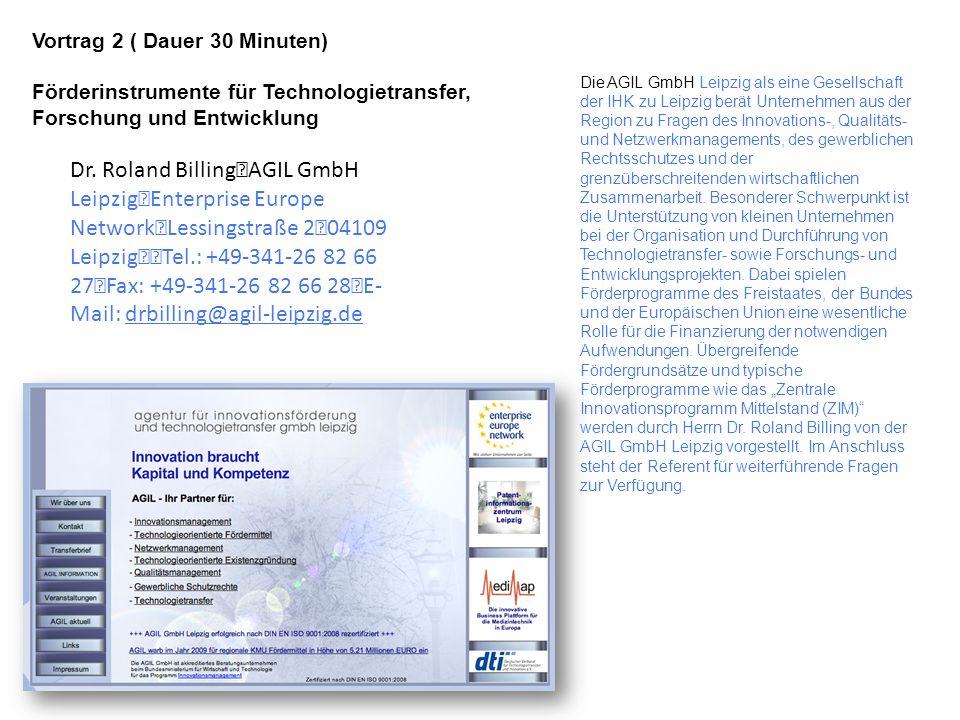 Die AGIL GmbH Leipzig als eine Gesellschaft der IHK zu Leipzig berät Unternehmen aus der Region zu Fragen des Innovations-, Qualitäts- und Netzwerkman