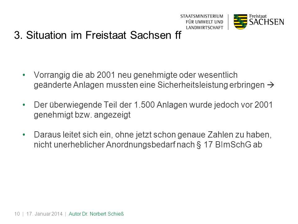 | 17.Januar 2014 | Autor Dr. Norbert Schieß10 3.
