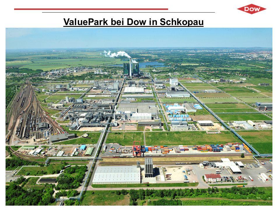 ValuePark bei Dow in Schkopau