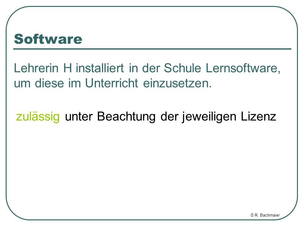 © R.Bachmaier Aufsichtspflicht im Unterricht Lehrer I lässt seine Klasse im Internet surfen.