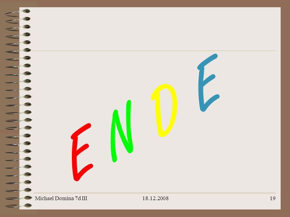 Michael Domina 7d III18.12.200819 E N D E