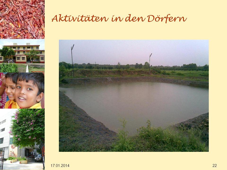 17.01.2014 22 Aktivitäten in den Dörfern