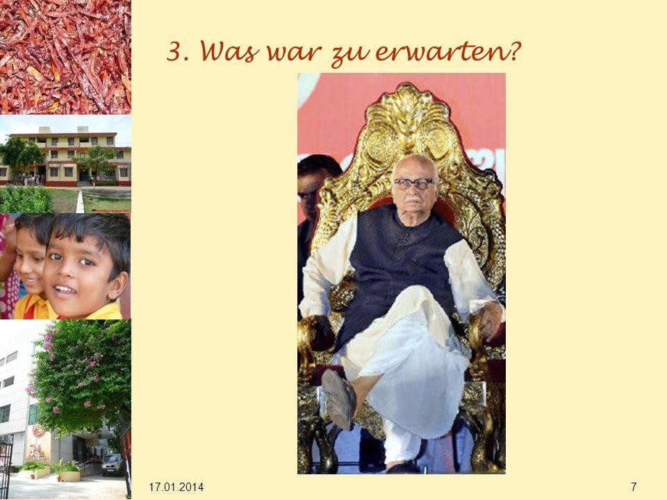 17.01.2014 18 5.d) Dynastisches Denken in Indien