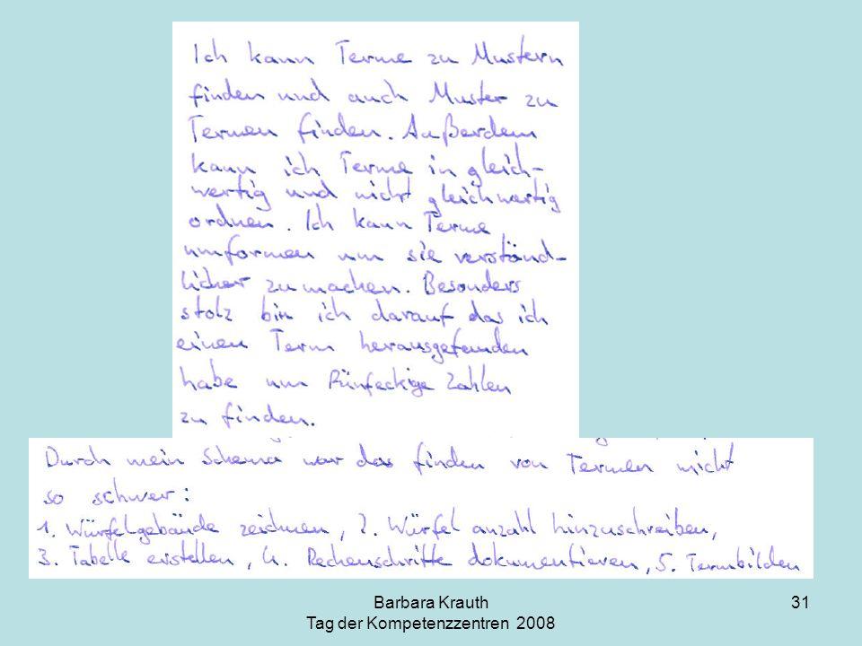 Barbara Krauth Tag der Kompetenzzentren 2008 31