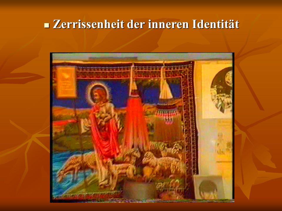 Zerrissenheit der inneren Identität Zerrissenheit der inneren Identität