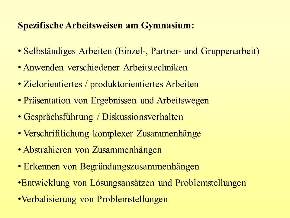 Kooperation zwischen Grundschulen und Gymnasium Zur Zeit wird ein Konzept entwickelt, das die Kooperation zwischen Grundschulen und Gymnasium intensivieren soll: - Hospitationen der 4.