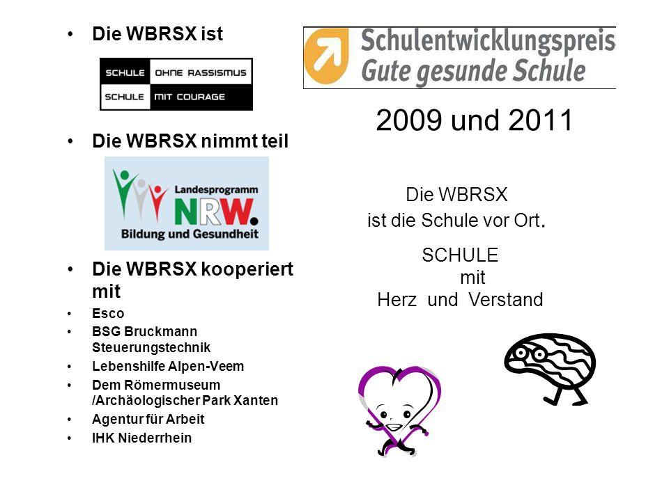 2009 und 2011 Die WBRSX ist Die WBRSX nimmt teil Die WBRSX kooperiert mit Esco BSG Bruckmann Steuerungstechnik Lebenshilfe Alpen-Veem Dem Römermuseum