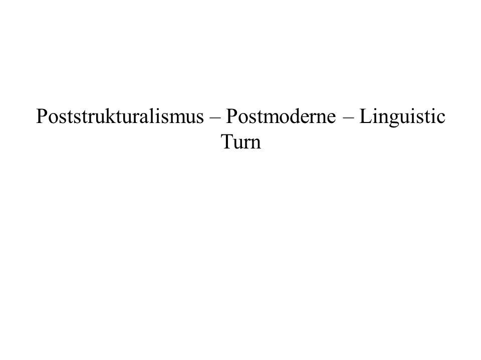 Dekonstruktion - Derrida Das, wovor man sich hüten muß, ich wiederhole es, ist der metaphysische Geschichtsbegriff.