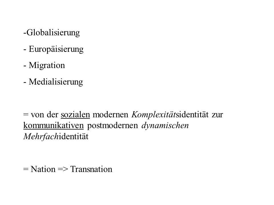 Trans: Jenseits – Diesseits – Go-between Transnational -histoire croisée -entangled histories (Randeria 2002)
