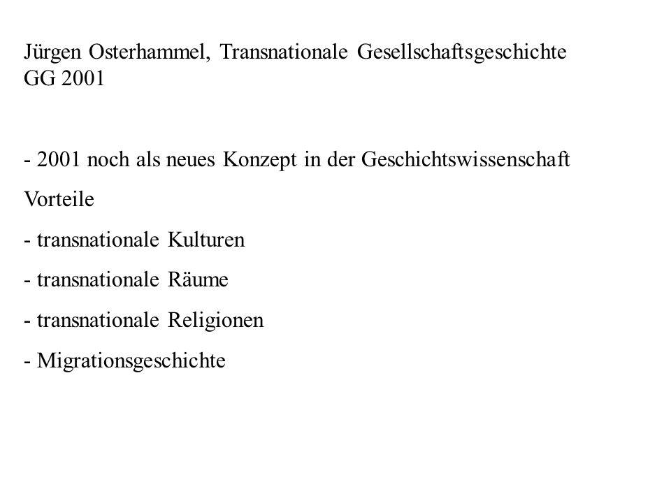 Thesen: 1 Nationalgeschichtsschreibung ist nicht der historiographische Normalfall.