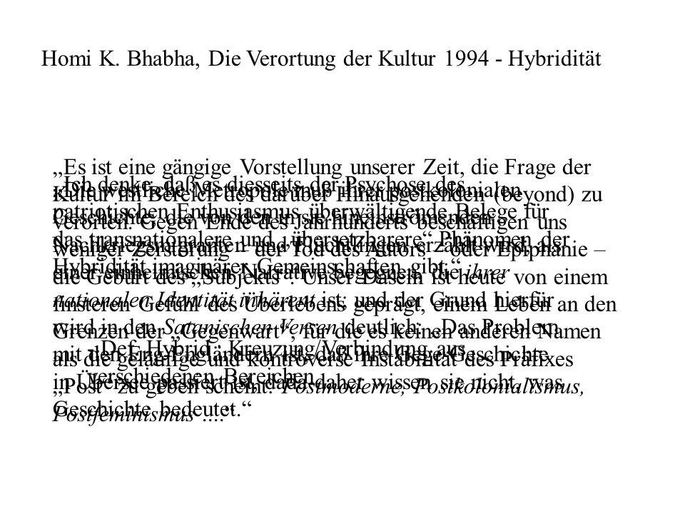 CEREN TÜRKMEN (Münster) fragte grundsätzlich nach dem Zusammenhang von Repräsentation, kultureller Identität und Distinktion in den Massenmedien und unterzog die von der weitläufigen Vorstellung einer pleasures of hybridity geprägte Populärkultur einer hegemoniekritischen Analyse.