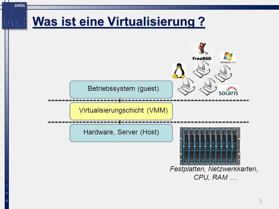 3 Was ist eine Virtualisierung .