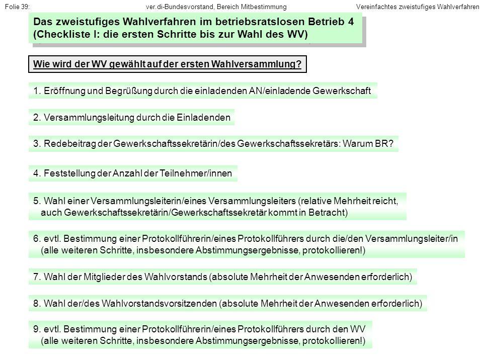 ver.di-Bundesvorstand, Bereich Mitbestimmung 13.