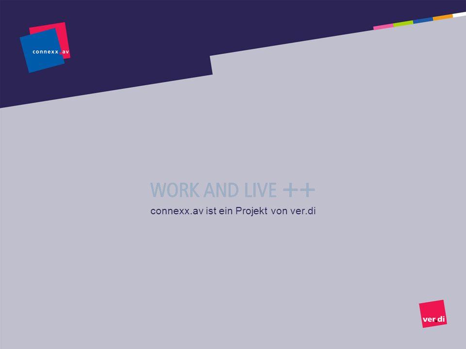 connexx.av ist ein Projekt von ver.di