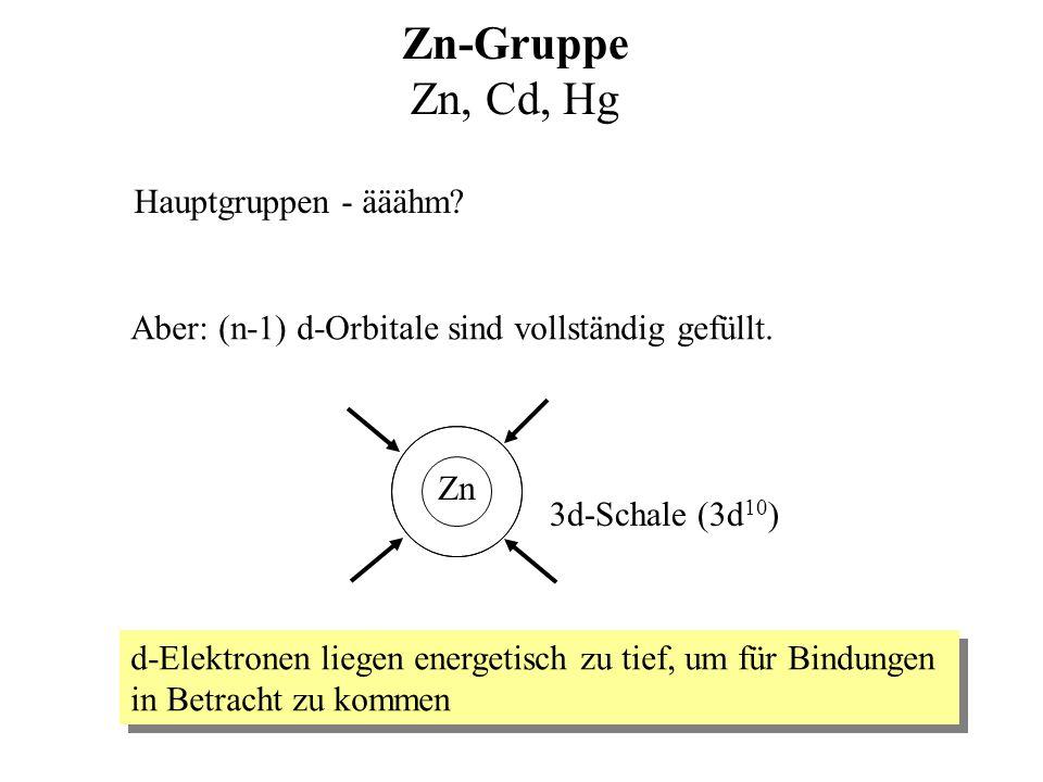 Organometallchemie : Erweiterte Grundlagen, aktuelle Forschung und Anwendungen Hauptgruppen 8.