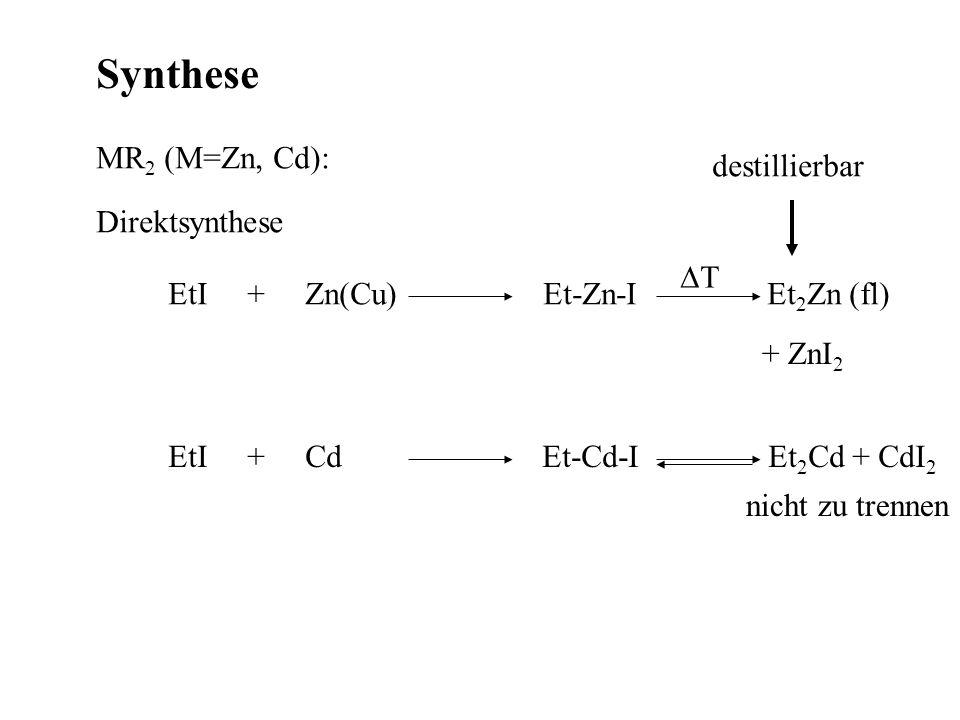 Physikalische Daten ZnCdHg EN 1.641.692.02.55 C E(M-C)177139121 400 kJ/mol
